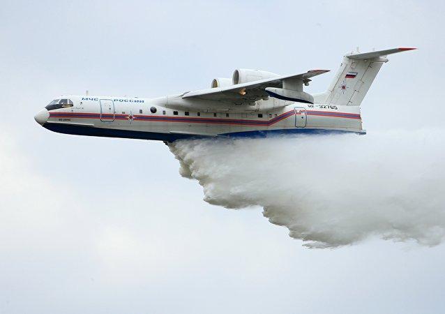 Avion-amphibie russe Be-200