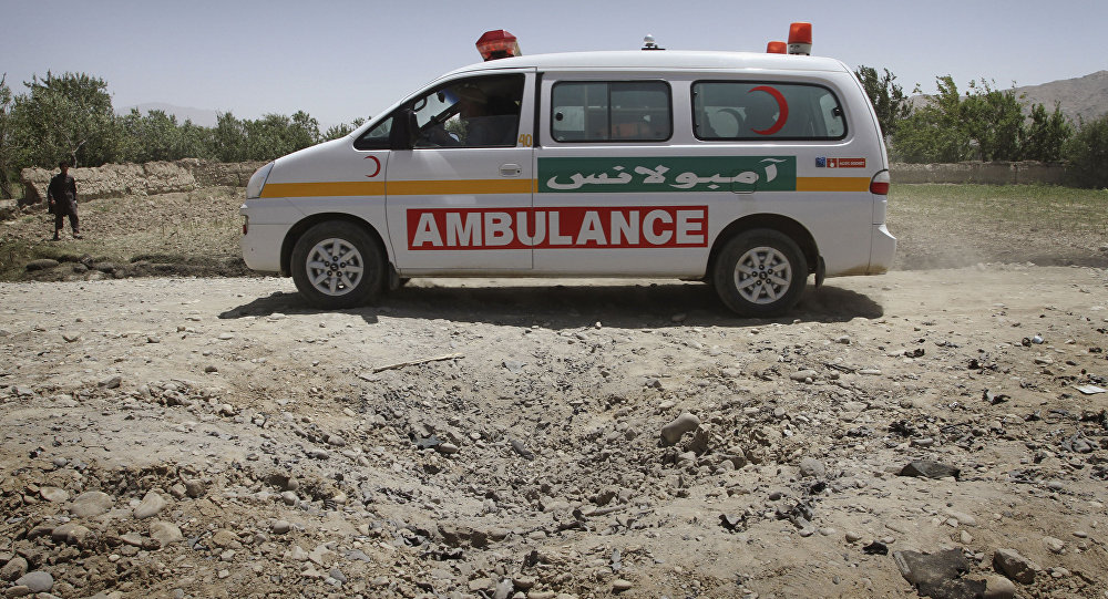 Une ambulance afghane (image d'illustration)