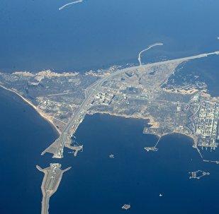 Le golfe de Finlande, mer Baltique