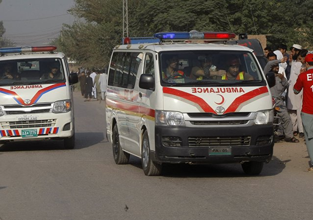 Pakistan, ambulances (image d'illustration)
