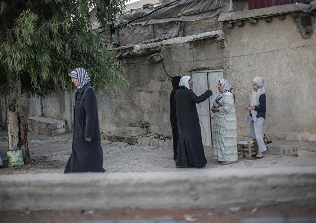 Dans la ville syrienne de Ghouta