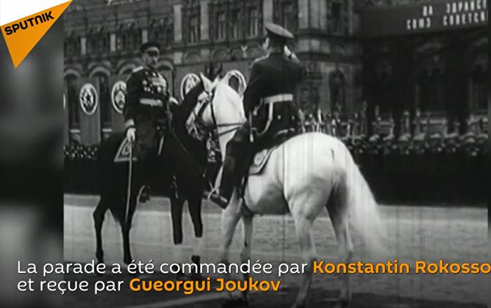 24 juin 1945, la parade des vainqueurs