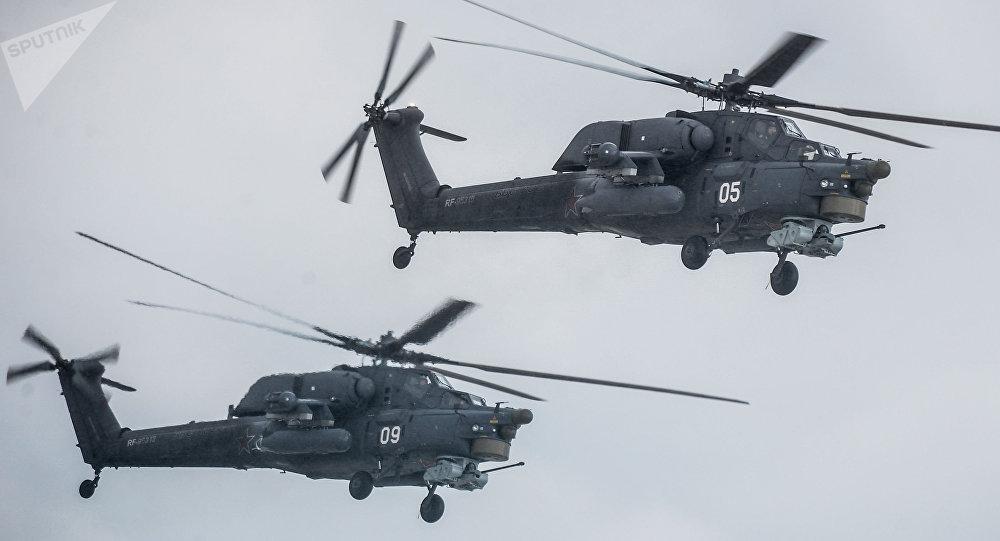 Hélicoptère Mi-28