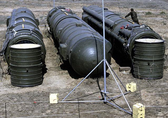 Des missiles soviétiques détruits suite à l'adoption du traité nucléaire FNI
