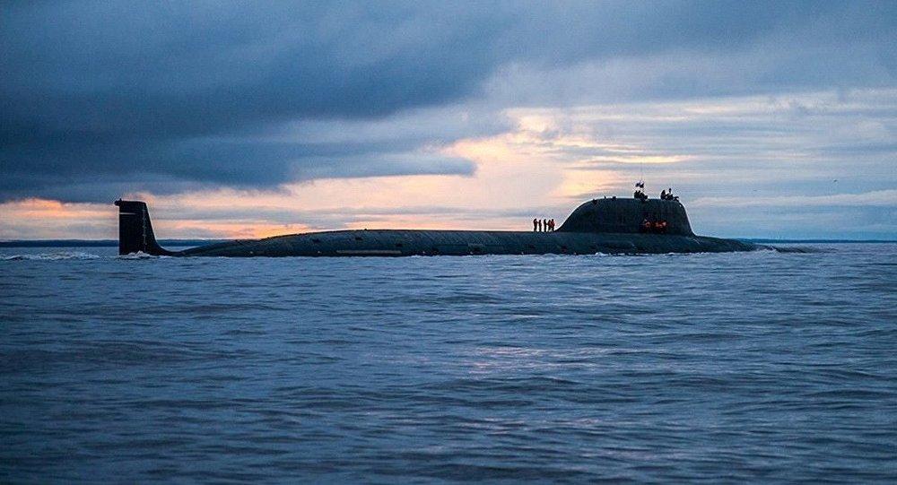 Le sous-marin russe de classe Iassen