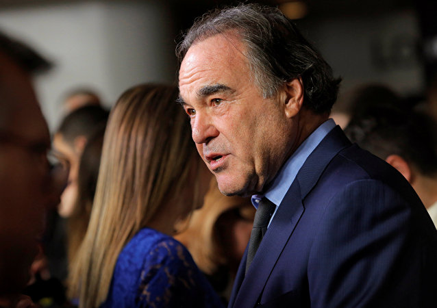 Director Oliver Stone attends the premiere of the film Snowden in Manhattan, New York, U.S., September 13, 2016.