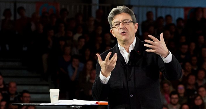 Jean-Luc Melenchon, image d'illustration