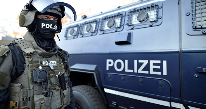 Police à Hambourg