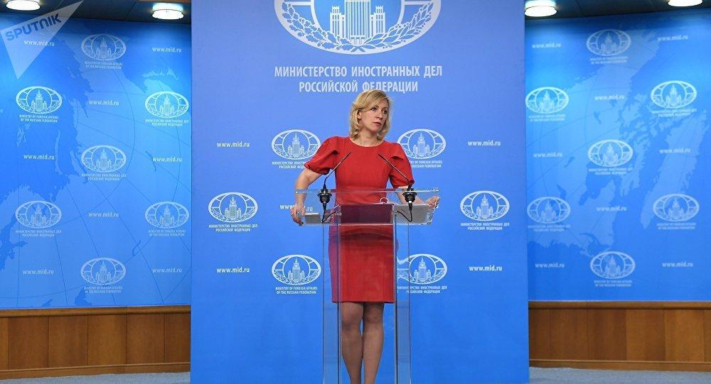 Zakharova tacle Washington sur les préparatifs d'une attaque chimique en Syrie