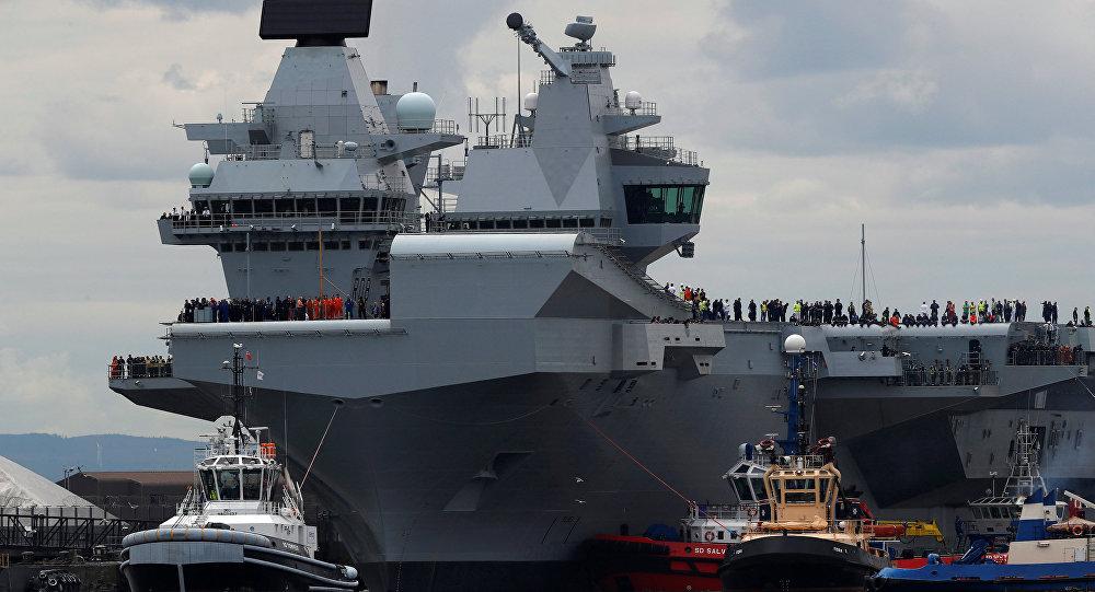 Le HMS Queen Elizabeth