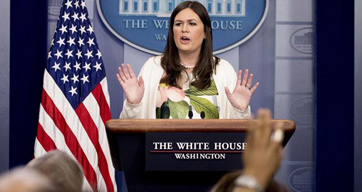 Sarah Sanders, porte-parole de Donald Trump