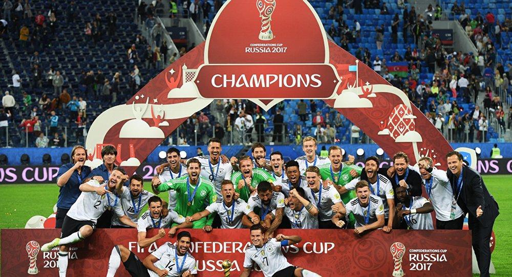 La coupe des conf d rations 2017 la 3e la plus suivie de l 39 histoire du tournoi sputnik france - Coupe des confederations 2009 ...