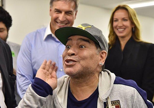 Diego Maradona à Moscou