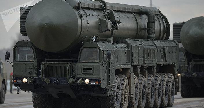 Un missile balistique intercontinental