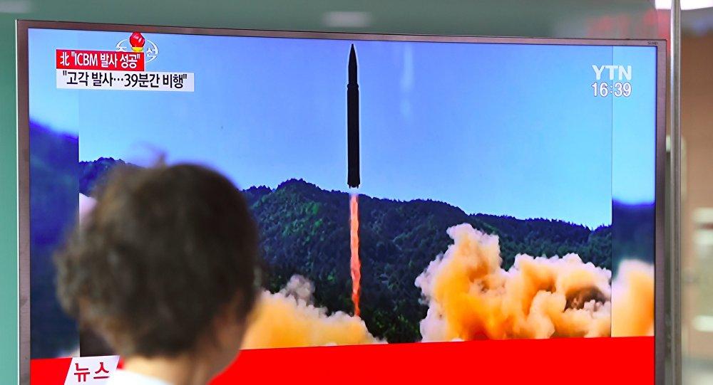 La Corée du Nord a «testé pour la 1ère fois avec succès» son missile balistique