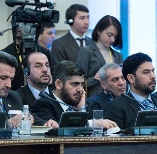 Délégation de l'opposition syrienne à Astana