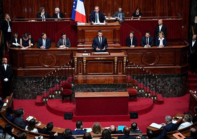Discours d'Emmanuel Macron devant le Congrès réuni à Versailles