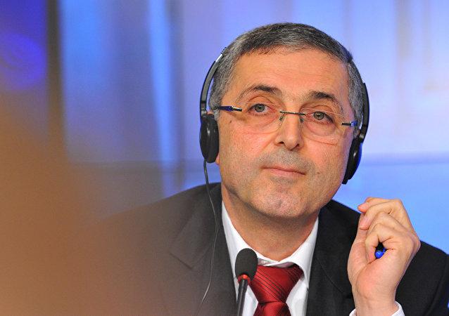 Le ministre syrien de la Réconciliation nationale Ali Haïdar. Archive photo