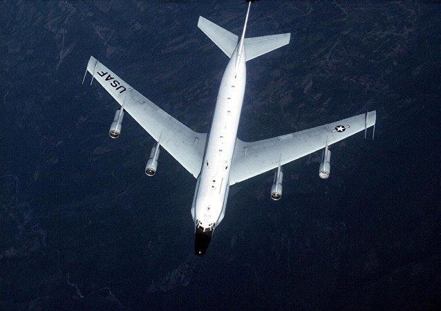 US Air Force shows an RC-135 surveillance aircraft