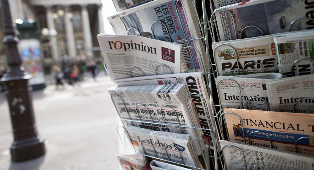 Presse écrite française