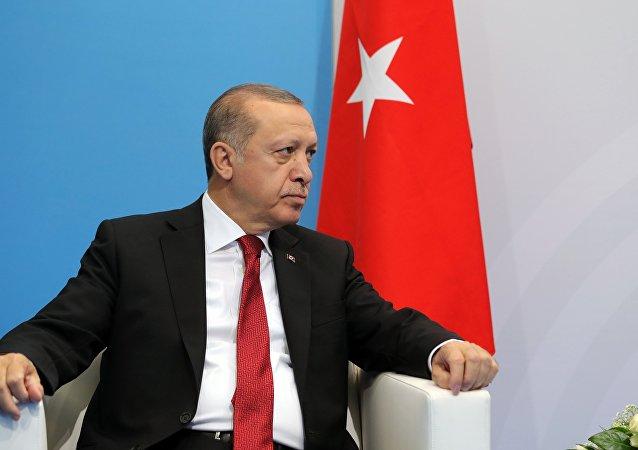 Recep Tayyip Erdogan au sommet du G20