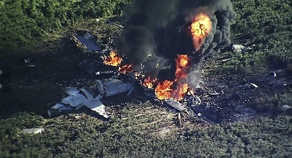Un avion militaire américain s'écrase aux États-Unis