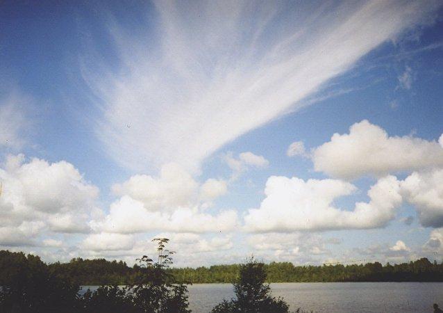 Lac Svetloïar de l'oblast de Nijni Novgorod, en Russie