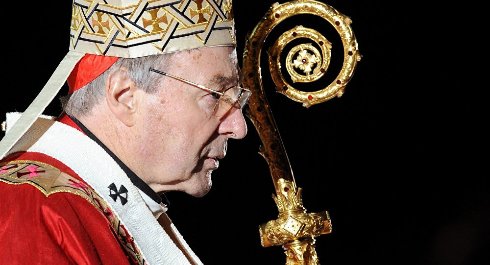 Cardinal George Pell. Archive photo
