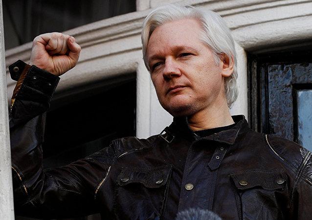 Julian Assange, le 19 mai, 2017