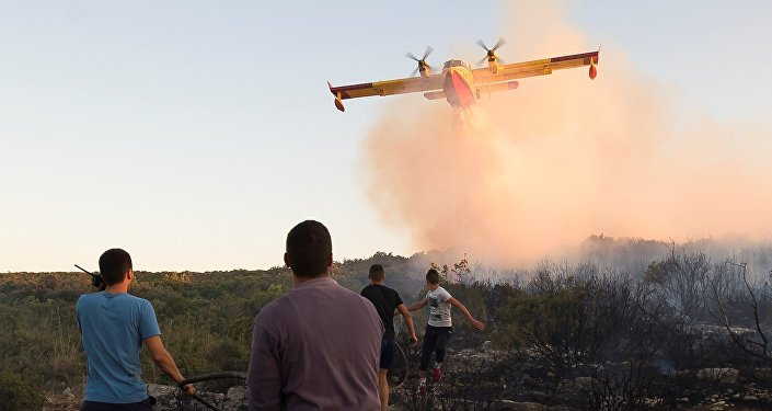 Incendies en Croatie
