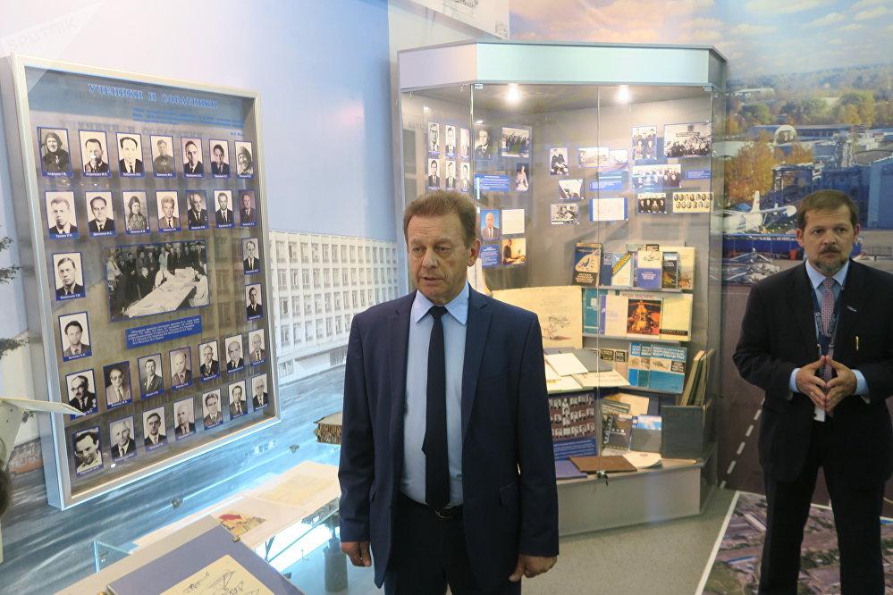 Nicolaï Pavlenko, constructeur général du holding « Hélicoptères de Russie »