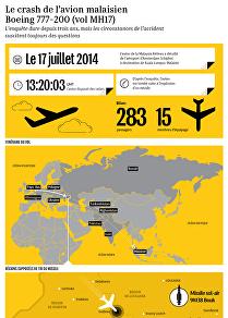 Le crash de l'avion malaisien Boeing 777-200 (vol MH17)