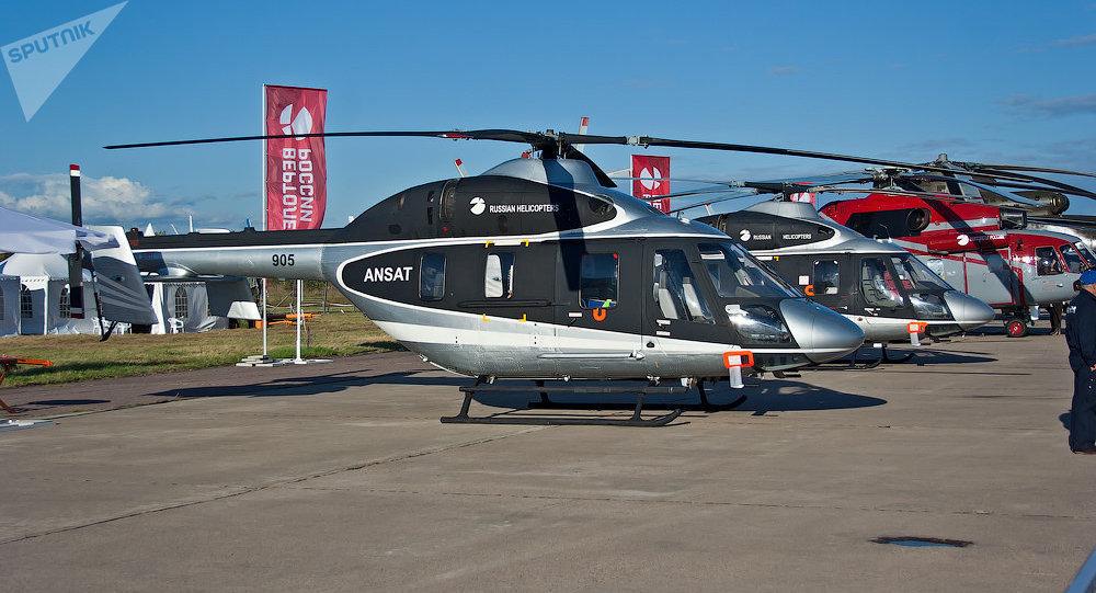 L'hélicoptère civil Ansat