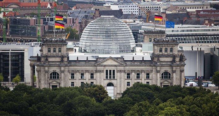 Le bâtiment du Reichstag