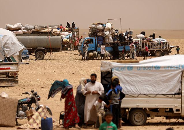 évacuation des civils de Raqqa