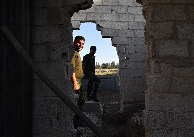 Ghouta Est en Syrie. Archive photo