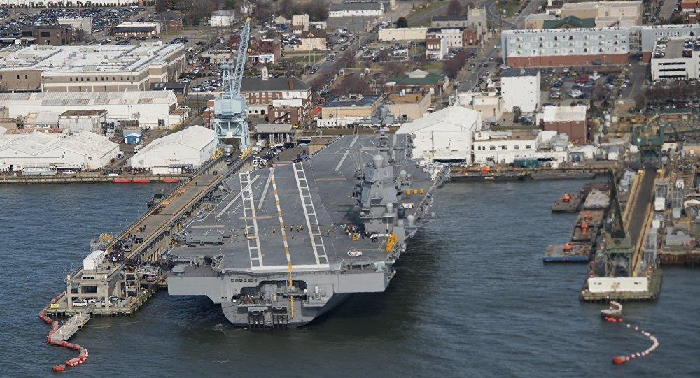 Les Etats-Unis inaugurent leur onzième porte-avions