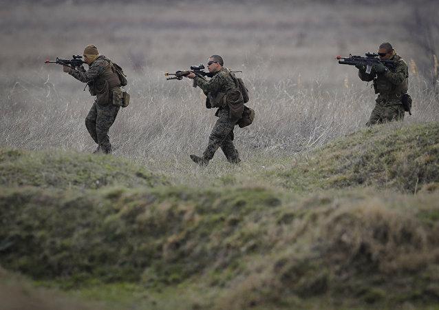 Les militaires américains en Roumanie