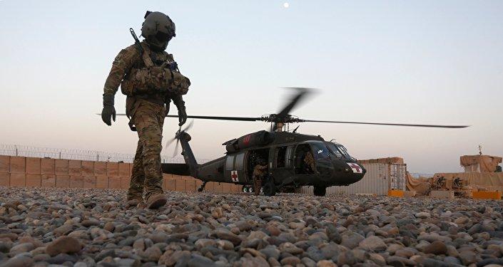 Un militaire américain en Afghanistan. Archive photo