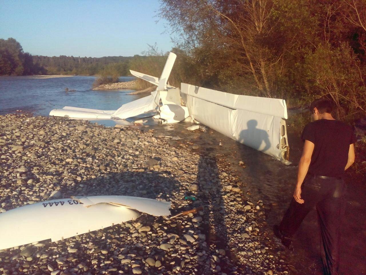Crash d'un avion en Abkhazie