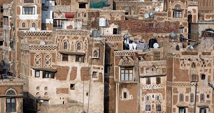 Sanaa, la capitale du Yémen