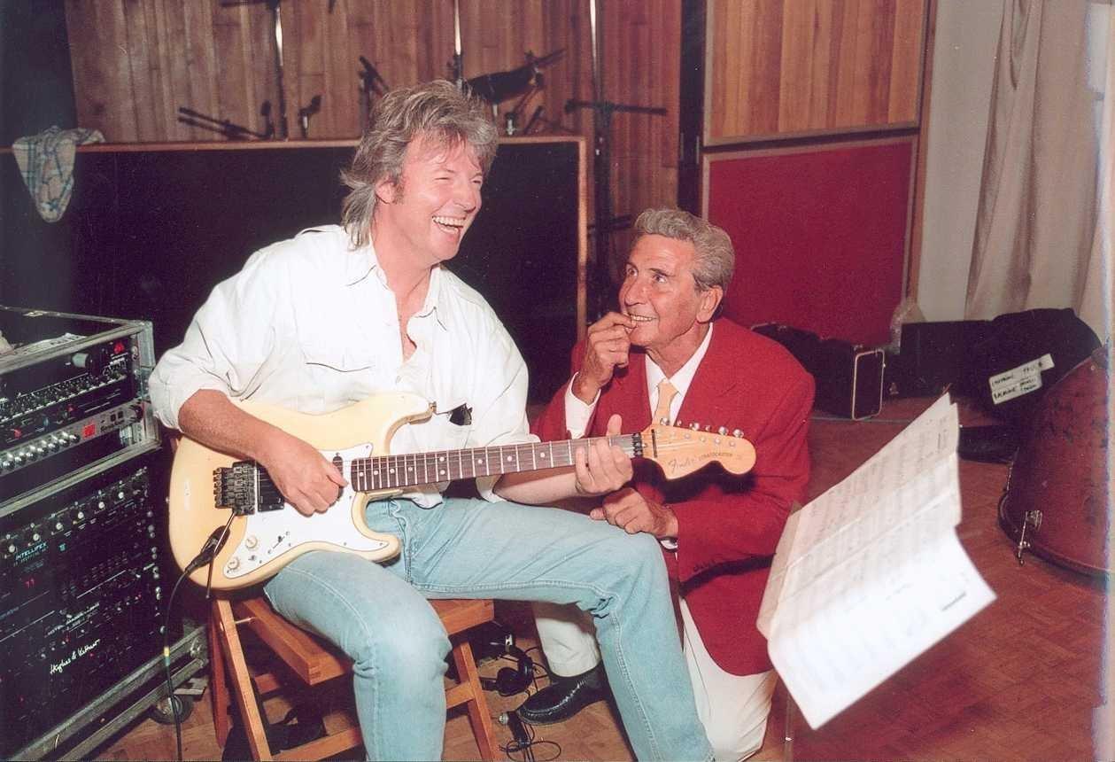 Yann Benoist et Gilbert Bécaud