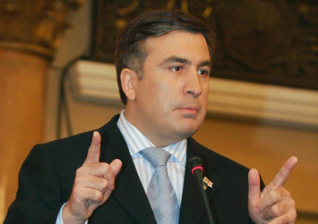 Saakachvili entre en Pologne avec son passeport ukrainien, pourtant annulé par Kiev