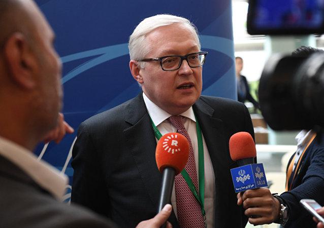 Le vice-ministre russe des Affaires étrangères Sergueï Riabkov. Archive photo