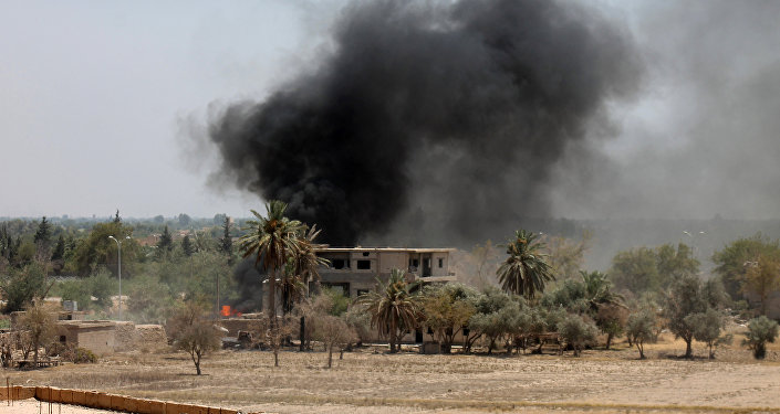 Situation à Deir ez-Zor. Archive photo