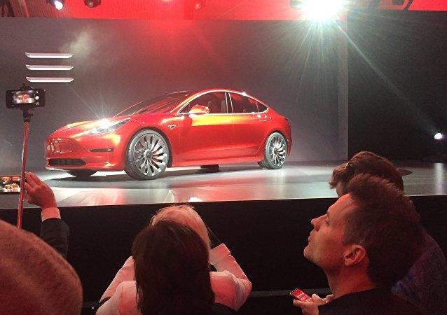 Voiture électrique Tesla Model 3