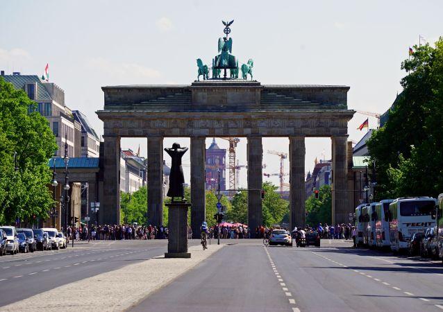 La porte de Brandebourg à Berlin