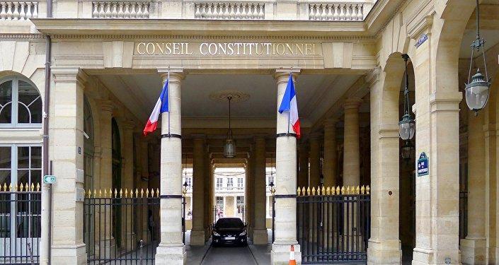 Rue de Montpensier (entrée du Conseil constitutionnel)