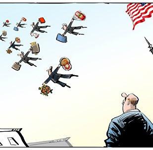 755 diplomates américains devront quitter le sol russe