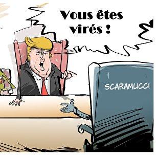 Trump limoge Anthony Scaramucci de son poste de directeur de la communication